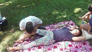 Massaggio cinese nel parco