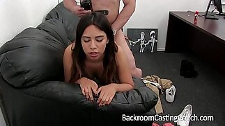 Mexican Teen First time ever Anal and Creampie