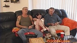 Little TEEN fucked after SCHOOL by DADDY