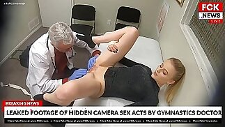 FCK News - Filmato trapelato di un dottore che si scopa la sua paziente bionda