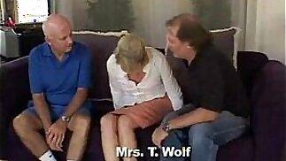 Blonde Swinger Slut Mrs. Wolf a.