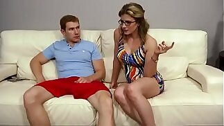 Terapia familiare - Cory Chase Sexy m. Threesome With Sons