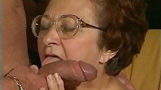 70yo Grandmother fucked y. Man