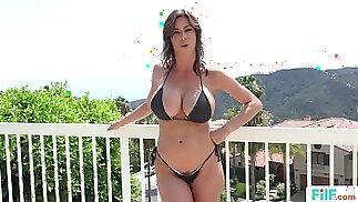 FILF Stepmom Alexis Fawx Uses Stepson To Fulfill Her Sexual Needs
