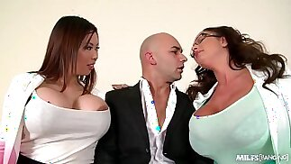 Milfs Tigerr Benson Emma Butt Fucked By Big Cock On Office Table