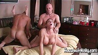 Scambio di moglie con 2 coppie scambiste