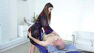 Elle Rose Exciting full body massage