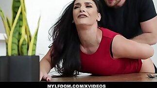 MYLFDOM Submissive Mom Sheena Ryder Gets Spanked