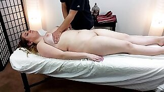 Thick 18 Year Old Alice Heart Gets Massage