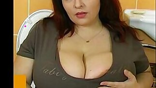 Fat bbw woman have sex with young man