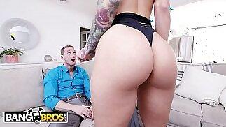 Sexy Escort Katrina Jade Shows Her Kinky Client Ryan McLane A Good Time