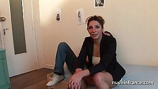 Amateur french milf hard analized double vaginal plugged and facialized