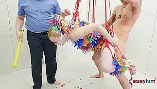 Anal girl gets b. punishment