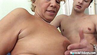 Young Souled Granny Sucking And Fucking Hard long mamba Cock