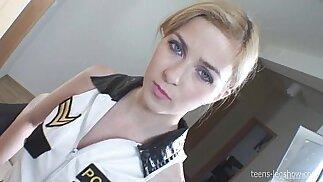 Instagram account Abigaile Policewoman Footjob
