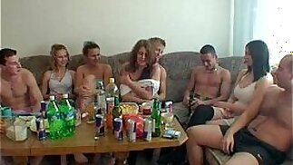 the party is over and anal sex orgy