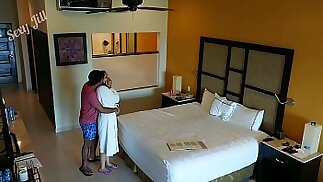 Young blonde girl m., to fuck and creampied against her will by hotel room intruder spy cam POV Indian